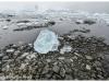 Glacial ice Antarctica