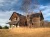 abandoned house; northern ontario; algoma