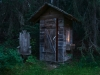 outhouse; kootneys; rockie mountains; british columbia