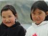 Inuit children kangiqsujuaq, Northern Quebec, Nunavat, Arctic