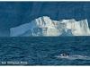 Greenland Uummannaq-fiord-iceberg and fisherman