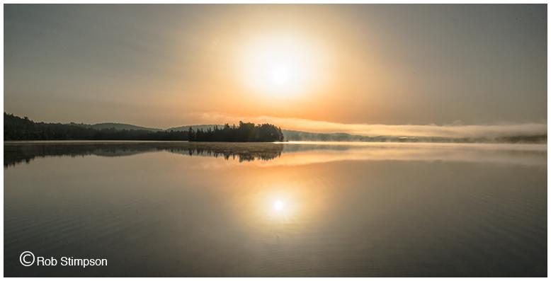 Algonquin Prov Park - sunrise - 6 a.m.