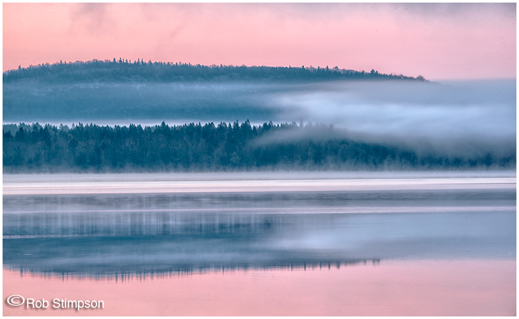 Algonquin Prov Park - sunrise on Lake of 2 Rivers