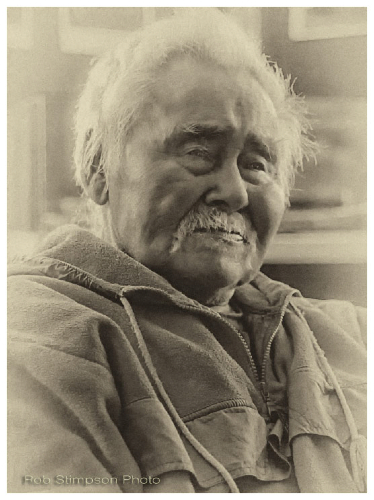 Inuit elder, kangirusjuak, Quebec, Hudson Bay