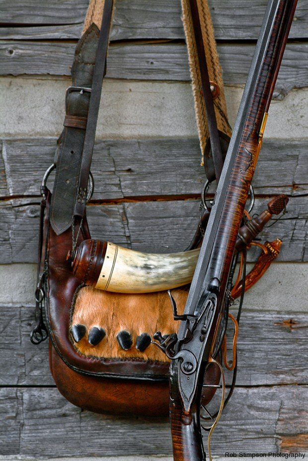 hunt-powder-horn-musket-stimpson-