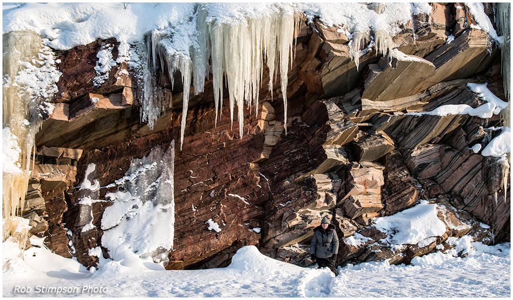 Ontario Parks_Algonquin Park Icefall
