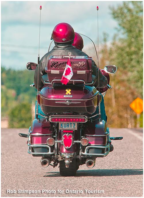 Motorcycling - New Liskeard, Ontario