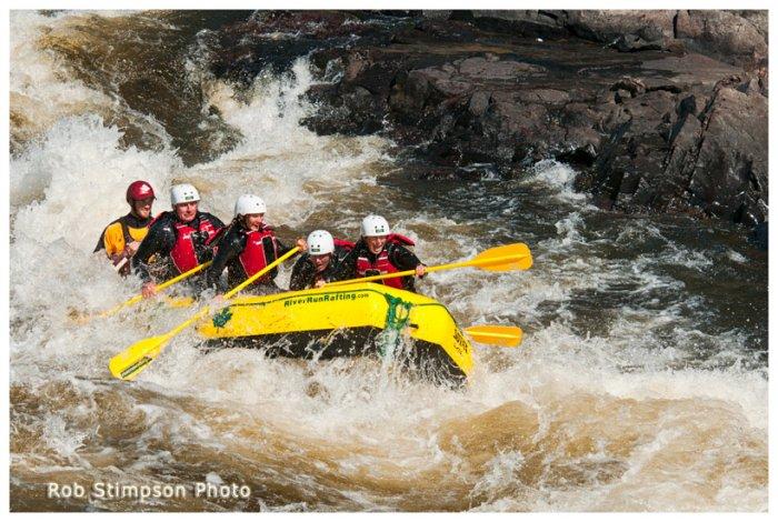white water rafting, river run rafting, Beachburg, Ontario